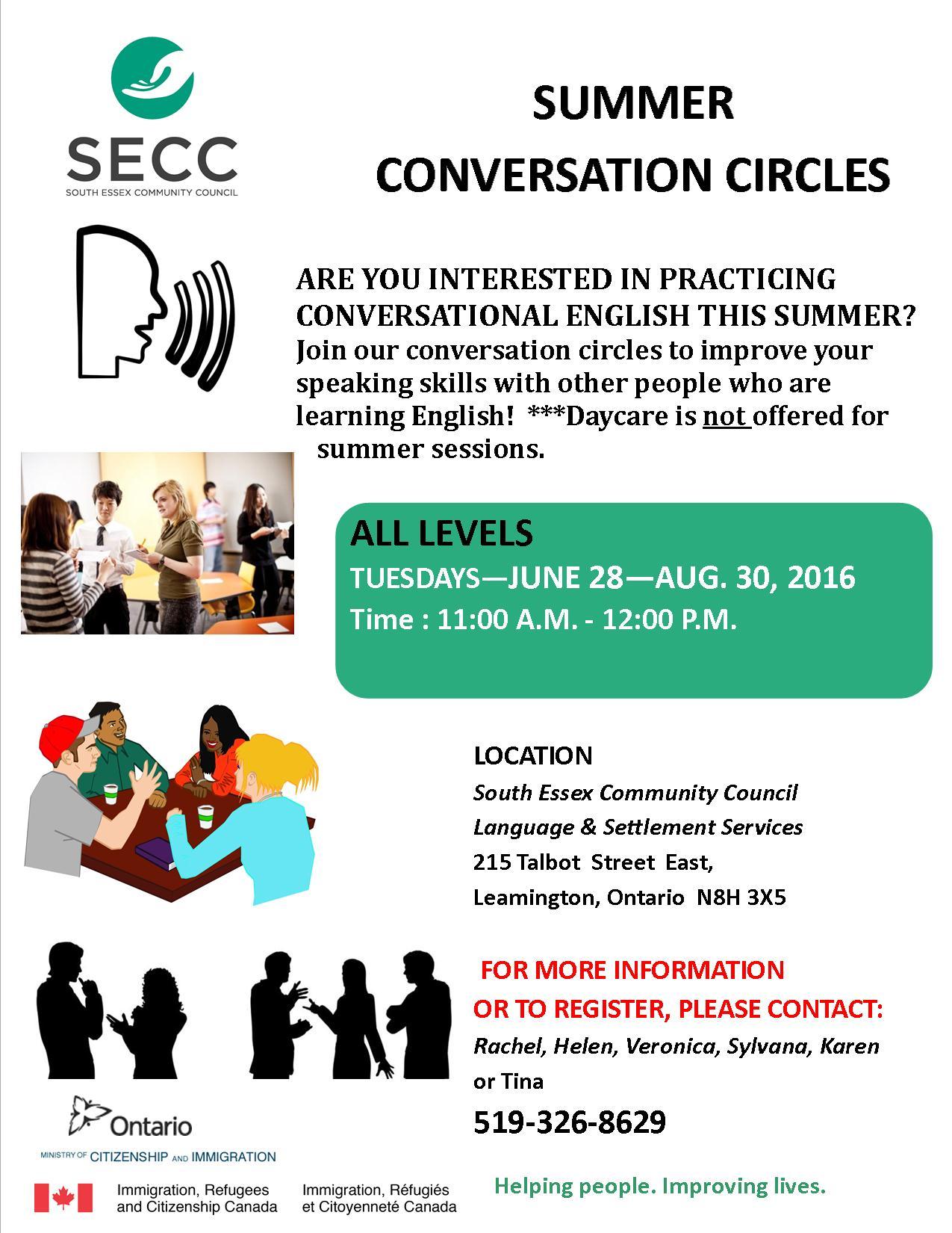 Conversation Circles - 2016