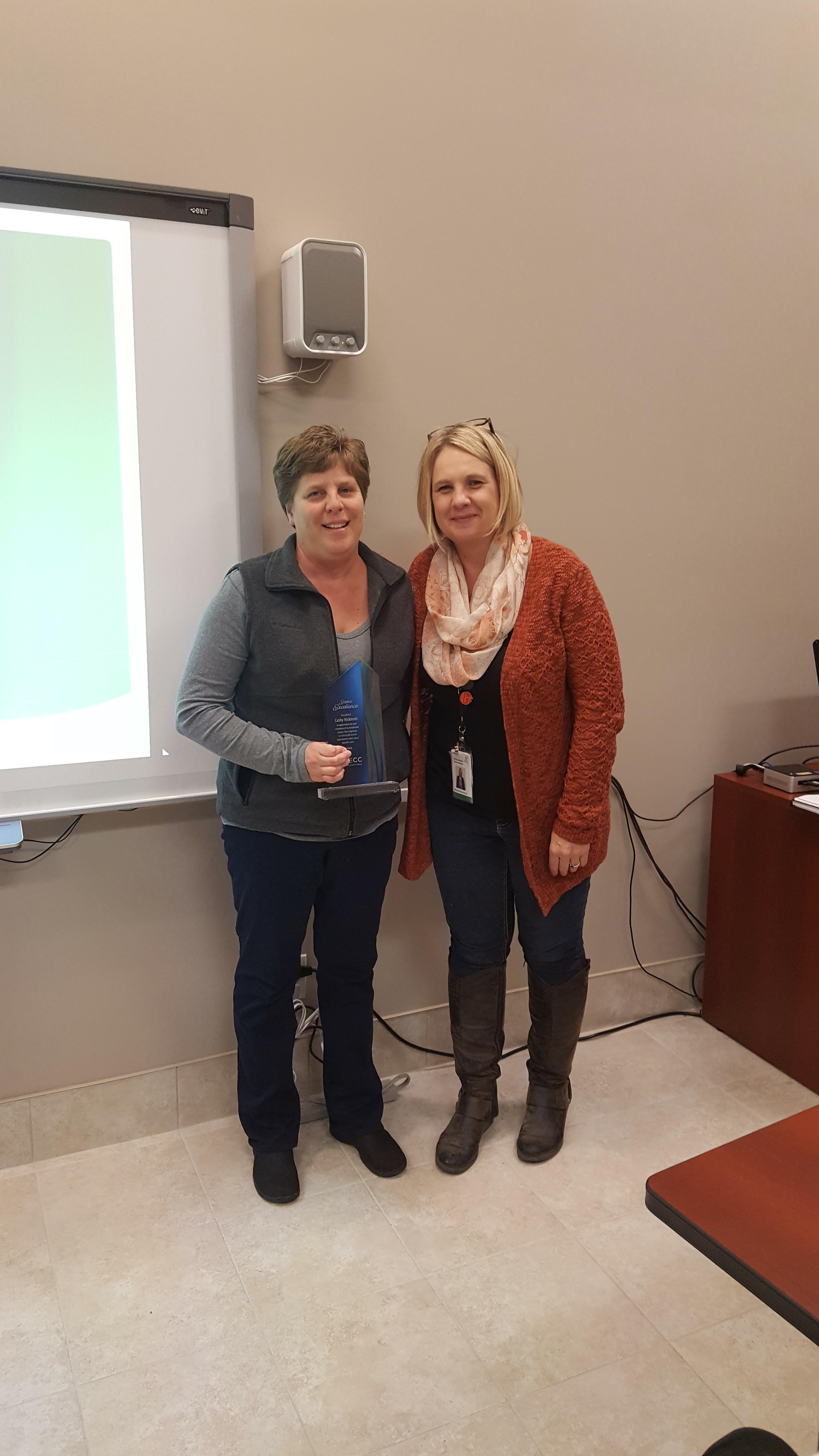 Kathy - Service Award